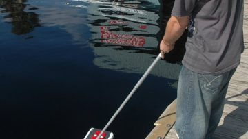 Oil Mop Testimonial - at dock