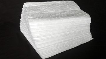 Replacement pads for oil mop