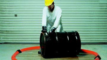 Spill Berms - around drum