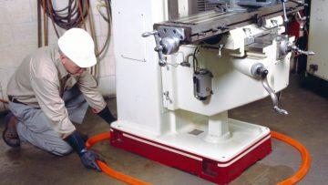 Spill Berms - around machine